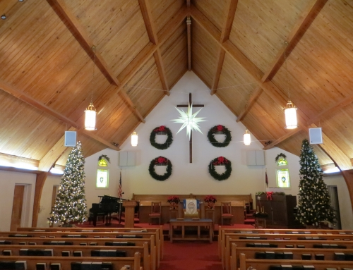 Decorating for Advent and Christmas, Saturday December 1 beginning at 9:00 a.m.